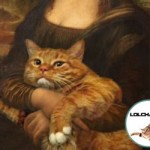 Le chat de Mona Lisa - La Joconde