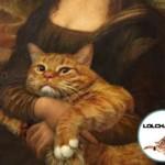 Le chat de Mona Lisa - La Joconde